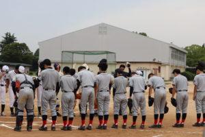 【軟式野球部】練習試合の結果