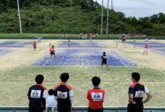 【ソフトテニス部】東播地区3年生代替研修大会