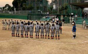 【軟式野球部】秋季ブロック大会第3代表決定戦の結果