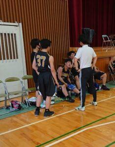【バスケットボール部(男子)】県総体!
