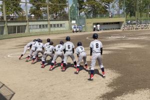 【軟式野球部】秋季県大会1回戦の結果