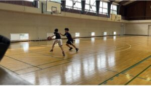 【男子バスケットボール部】部活動が再開しました!
