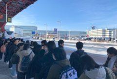 第54回生修学旅行 北海道到着