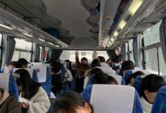 第54回生修学旅行  小樽出発